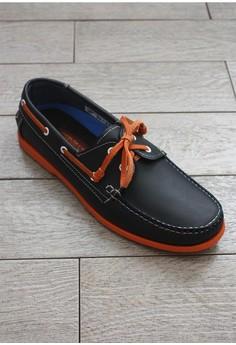 American Eagle Spokane Genuine Leather Boat Shoes