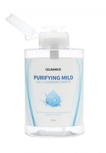 Celranico white and green and blue Celranico Purifying Mild 2 in 1 Cleansing Water (pump type) 5D090BE3A26329GS_1