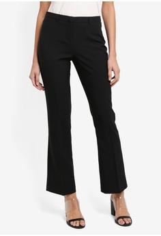 17d388463a07 Dorothy Perkins black Short Black Bootcut Trousers 9232FAA5580B37GS 1