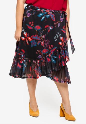 Junarose black Plus Size Tonic Mini Skirt 72BC2AA8AFEA55GS_1