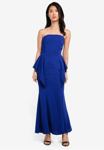 Preen & Proper blue Bustier Long Dress PR614AA0S9VJMY_1
