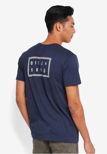 Billabong 海軍藍色 休閒品牌印花T恤 F1FBFAAA6BC106GS_1