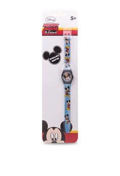 Disney Mickey Mouse & Friends Unisex Plastic Strap Watch MICKEY-SA-101
