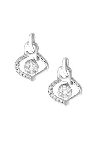 TOMEI white TOMEI Earrings in Bedazzling Verve Diamond White Gold 375 (E1972V) FA7C6ACB9D6ED9GS_1