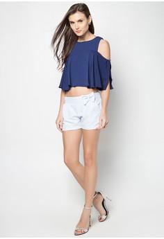 Clique Mikaela Shorts Plain with Removable Ribbon petite size