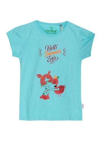 Cardinal Kids blue T-Shirt Best Summer Ever DED5EKA234F626GS_1