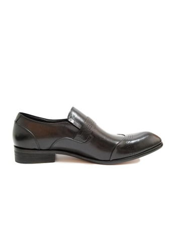 Kings Collection black Lloyd Dress Shoes 8A97FSH98ECABFGS_1