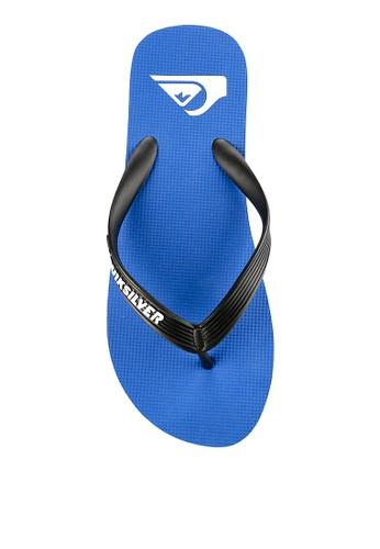 Quiksilver blue Molokai Sandal 9543ASHD79D73EGS_1