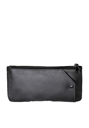 Twenty Eight Shoes black VANSA Top Layer Cowhide Long Wallet VBU-Wt2030 8C7D2AC3DCF1C0GS_1