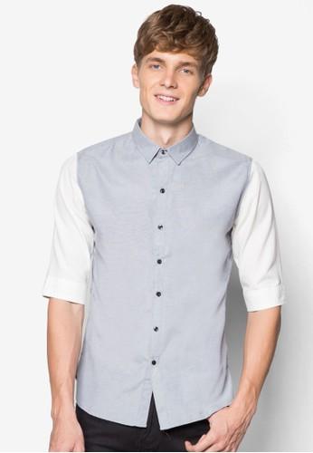 色塊短袖襯衫, 服飾esprit 童裝, 襯衫
