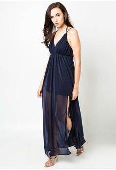Midnight Empire Maxi Dress