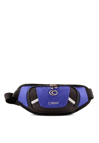 Ozone blue Sport Waist Bag OZONE 839 - Biru Terang C5048AC00AAA68GS_1