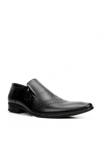 Mario D' boro Runway black MS 44448 Black Formal Shoes EDFC4SH6A06D7EGS_1