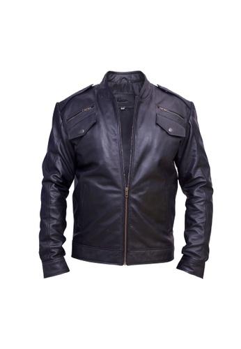 Oxhide black Oxhide Leather Jacket Black FK02 1C647AA7794F18GS_1