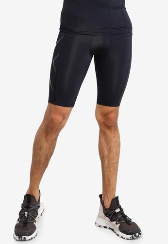 2XU black Compression Shorts 5732EAA4C9DE5EGS_1