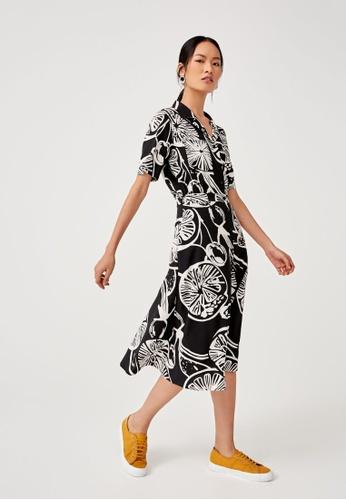 Love, Bonito black Ruby Printed Shirt Dress 0E3AEAA83A0CCAGS_1