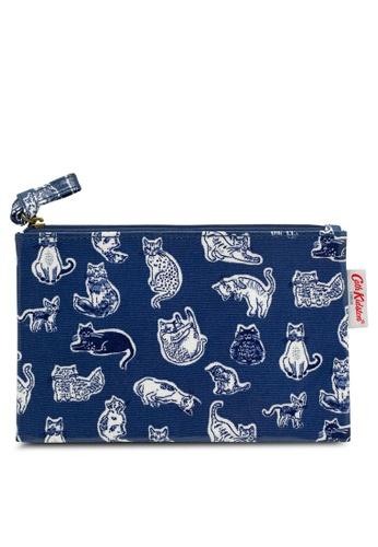 b1d5670b09 Buy Cath Kidston Squiggle Cats Zip Purse Online on ZALORA Singapore