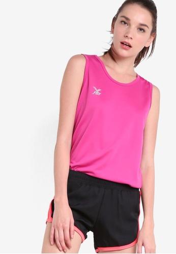 FBT pink Basic Running Singlet FB961AA38WOFMY_1