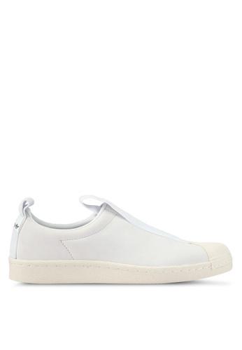 adidas white adidas originals superstar bw3s slipon w AD372SH0SSO5MY_1
