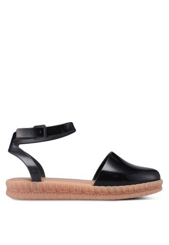 Melissa 黑色 Melissa Espadrille Jason Wu Ad 平底涼鞋 1B74ASH36934A9GS_1
