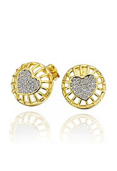 Sarah Gold Plated Earrings