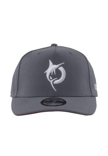 Todak grey Todak Cap (Snapback) 70466AC7A00738GS_1