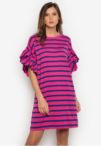 Le Tigre pink Ladies Dress LE798AA0K40NPH_1