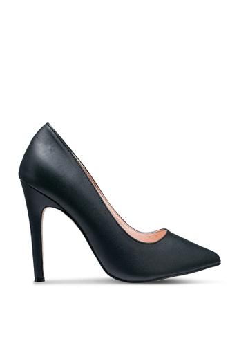 nose 黑色 Pointy Toe High Heel Pumps D12CASH4E98BDCGS_1