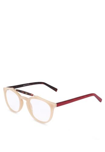 Milliot & Co. beige Tracy Phantos Sunglasses 95480GLC61527AGS_1