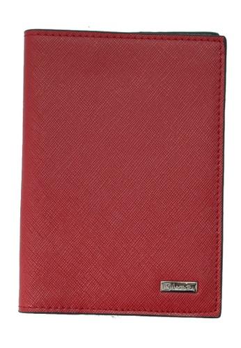 Valentino Rudy red Valentino Rudy Saffiano Leather Passport Holder VA677AC69TGCSG_1