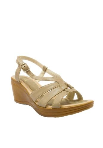 BANDOLINO grey Stella Wedge Sandals EAADASHF75E2F0GS_1