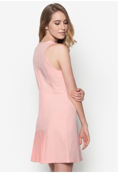 Collection Pleated Back Dress