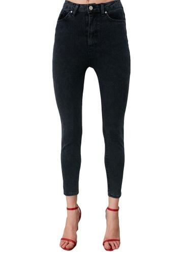Trendyol blue High Waist Skinny Jeans 1B592AA4ED4189GS_1