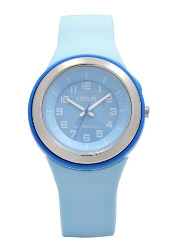Lorus blue LORUS Jam Tangan Wanita - Blue - Silicon - R2315MX9 E1633AC1978C92GS_1