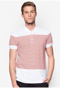 Engineered Stripe Polo