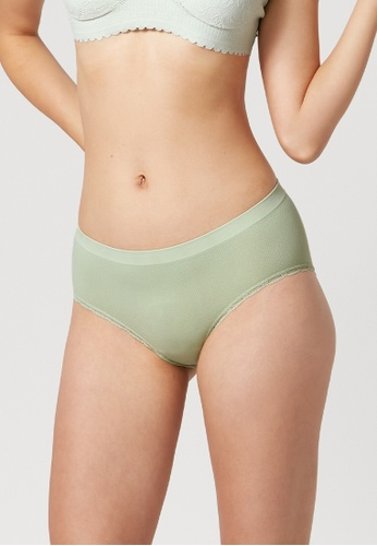 6IXTY8IGHT green 6IXTY8IGHT MOMO, Hipster Panty PT11219 27F2EUS8335D43GS_1