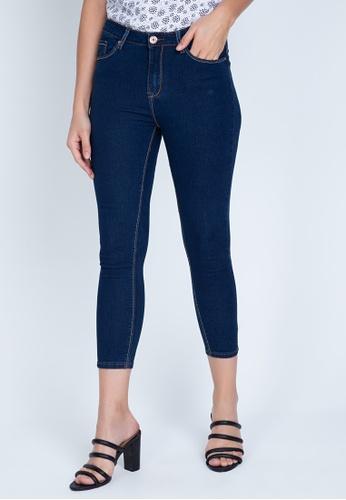No Apologies blue Denim Long Pants High Waist Ladies D9400AAAA523B8GS_1