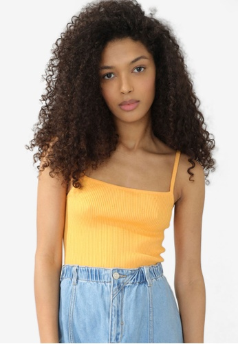 PIMKIE yellow Ribbed Top BCF43AA79FB40AGS_1