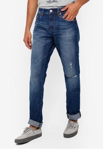 OVS 海軍藍色 Men's 牛仔褲 D3DB3AAD7C2021GS_1