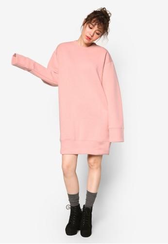 韓系時esprit台灣outlet尚長袖衫連身裙, 服飾, 外套