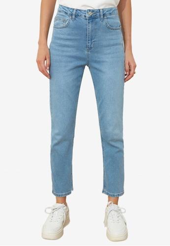 Trendyol blue High Waist Jeans 33727AA93EB62EGS_1