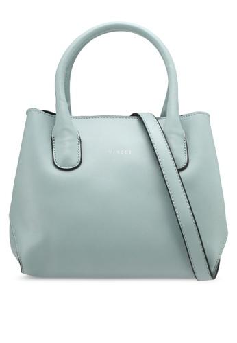 VINCCI blue Casual Top Handle Bag VI831AC0SY7CMY_1