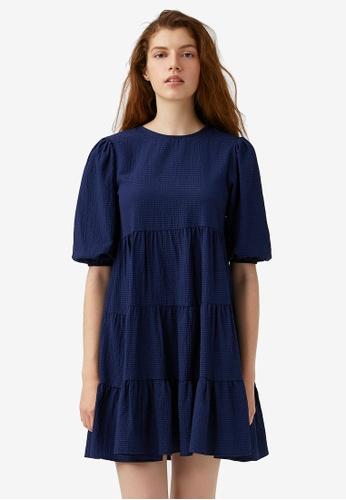 KOTON blue Casual Dress AB63CAAA921224GS_1