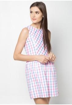 Sl Rneck Dress With Princess Seam