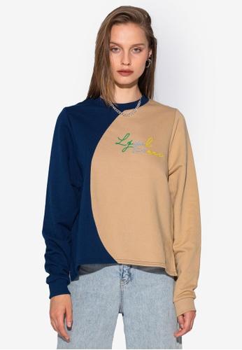 Local Heroes multi Moon Cut Sweatshirt 06118AA384DD38GS_1