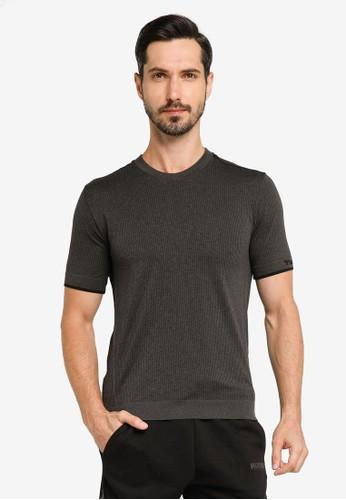 Hummel black Joe Seamless T-Shirt 83607AA4A5DE59GS_1