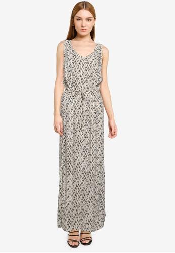JACQUELINE DE YONG grey Staar Life Sleeveless Maxi Dress C61A7AAB93083CGS_1