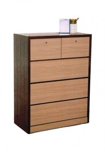 Choice Furniture brown Choice Furniture - Chassidy Chest of Drawers 8273FHL73666FEGS_1