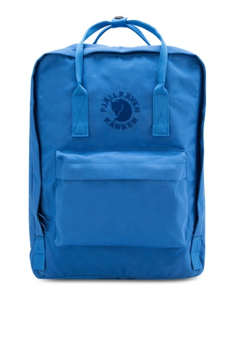 Fjallraven Kanken blue UN Blue Re-Kanken Backpack FJ382AC93ZNIMY_1