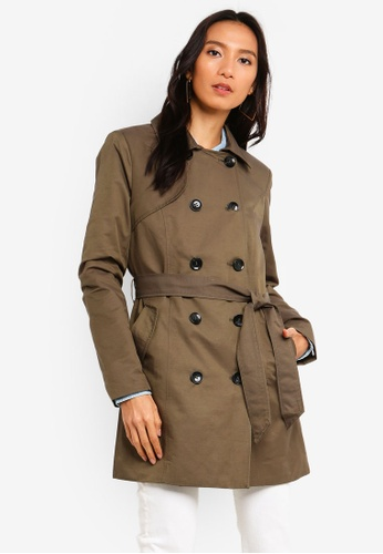 Long Trench Coat Outerwear